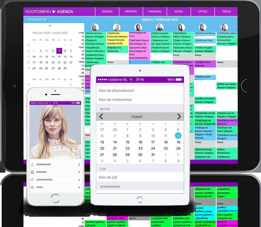 iPhone App salon software