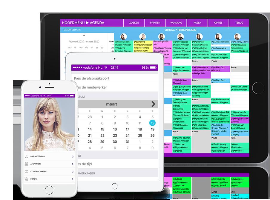 Kassasysteem Kapsalon iPad
